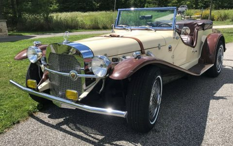 renewed 1929 Mercedes Benz SSK Gazelle Replica for sale