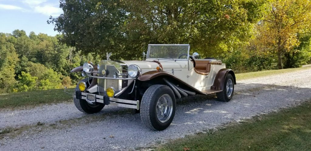great running 1929 Mercedes Gazelle Replica