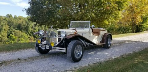 great running 1929 Mercedes Gazelle Replica for sale