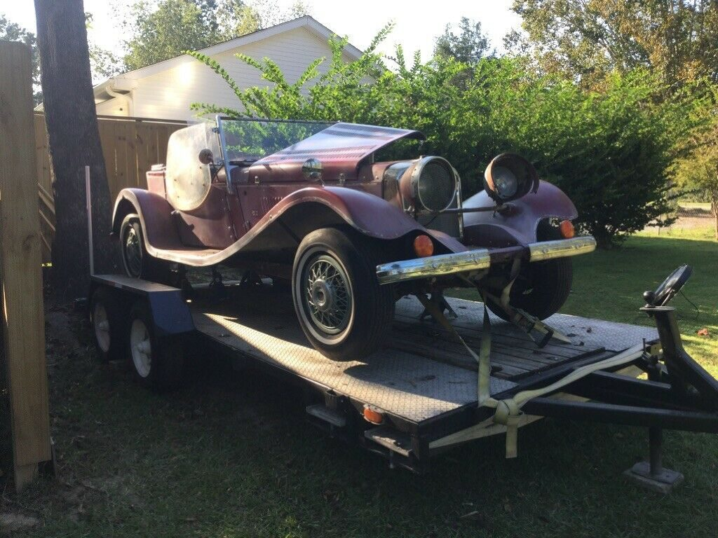 needs work 1937 Jaguar Replica