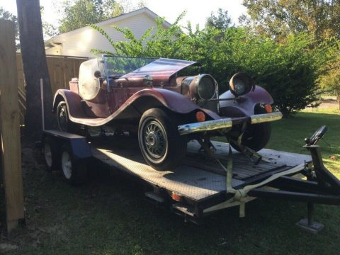 needs work 1937 Jaguar Replica for sale