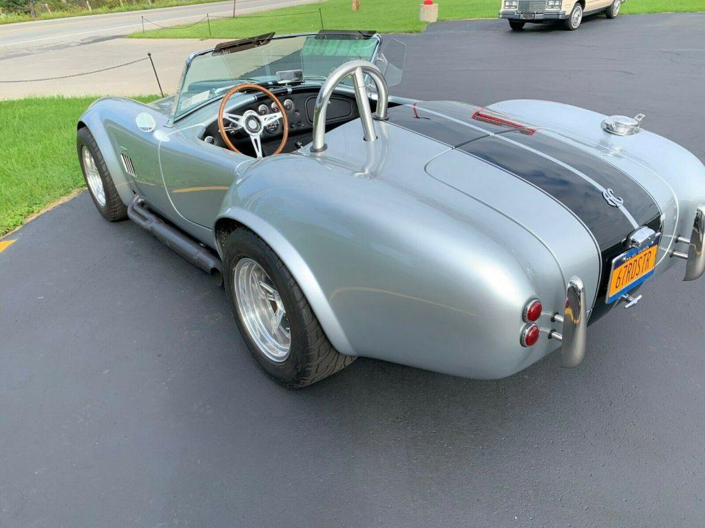 very sharp 1967 AC Cobra Roadster replica