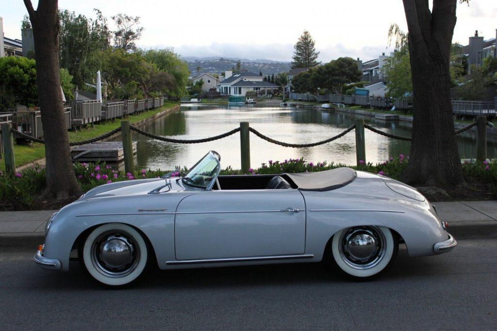 Beautiful 1957 Porsche 356 replica
