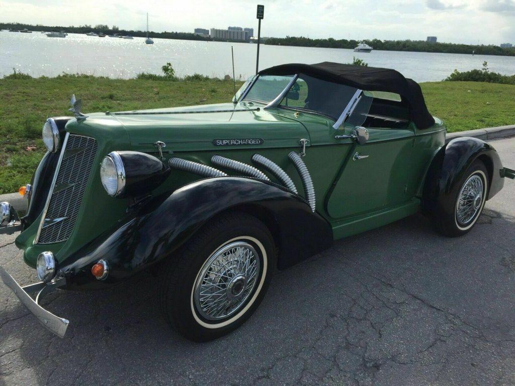 new parts 1936 Auburn Replica