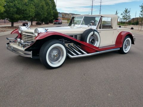 rare 1929 Cord Custom 1969 replica for sale