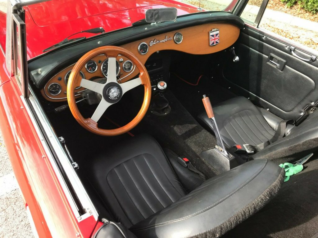 very nice 1960 Austin Healey 3000 Replica