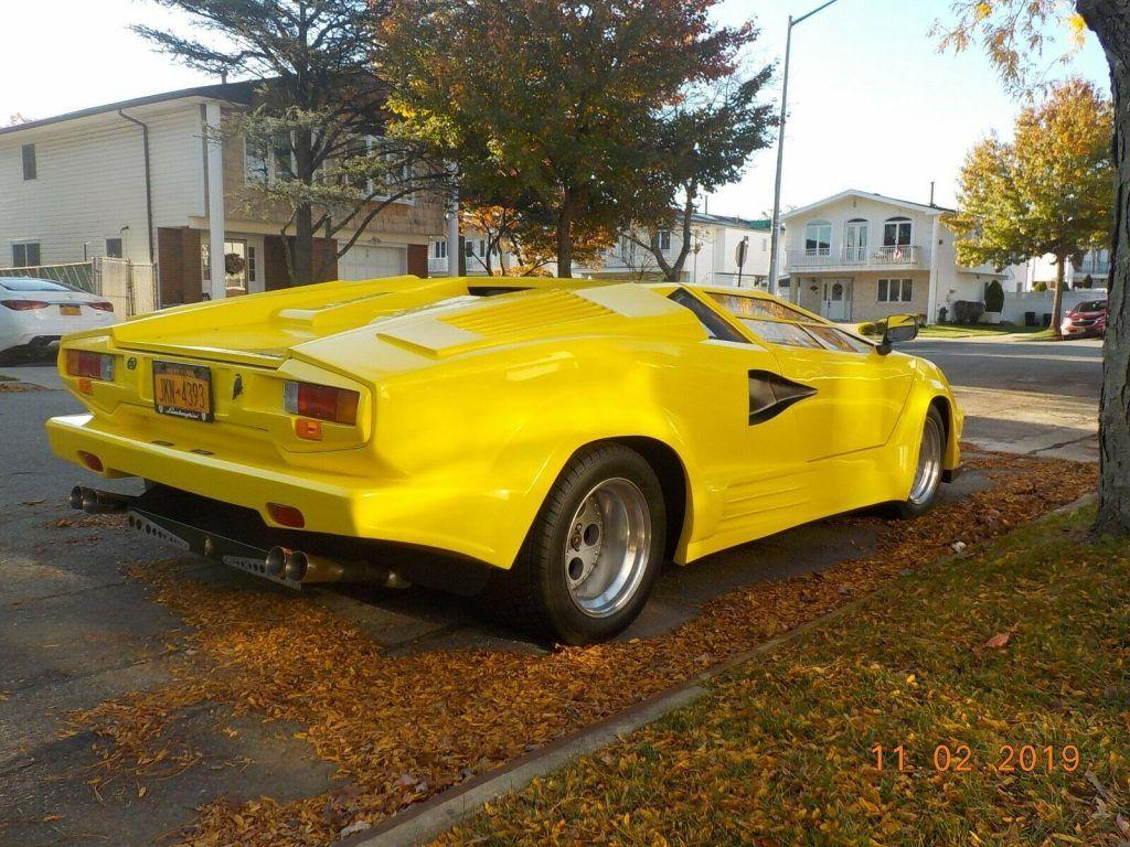 nice 1988 Lamborghini Countach Replica