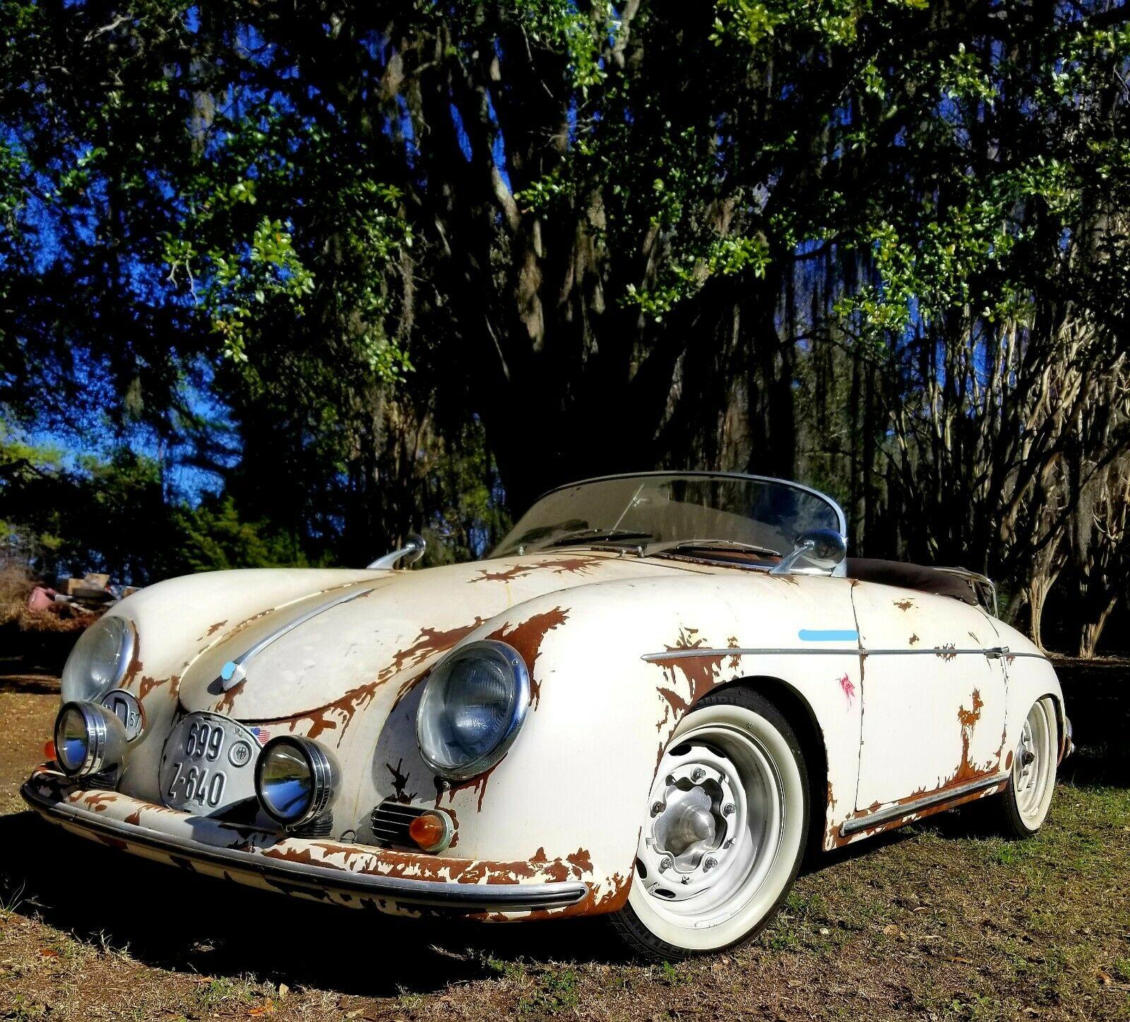 Rusty Look 1957 Porsche Speedster Replica For Sale