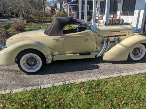 very nice 1936 Auburn Speedster 852 Replica for sale