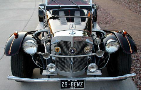 Chevette engine 1929 Mercedes-Benz SSK Replica for sale