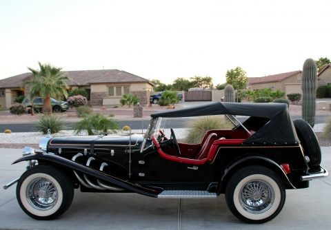 Chevrolet powered 1929 Mercedes-Benz SSK Gazelle Replica for sale