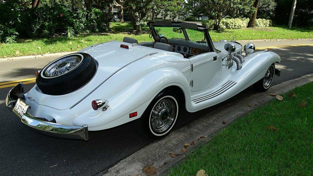 clean 1936 Mercedes-Benz 500 Heritage Replica