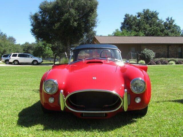 garaged 1965 Shelby Superformance Cobra Replica Convertible