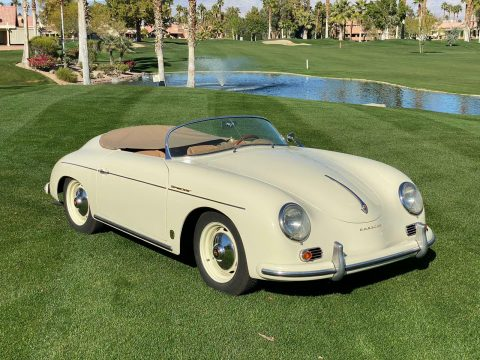 low miles 1958 porsche Speedster 356 Replica for sale