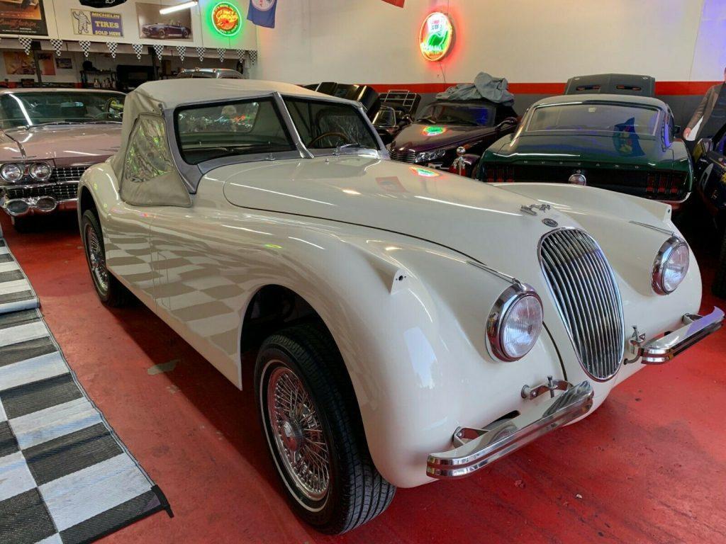 modified 1951 Jaguar Xk120 Replica