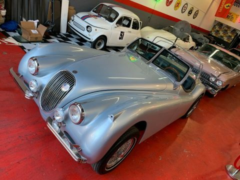 no engine 1951 Jaguar Xk120 Restomod Roadster replica for sale