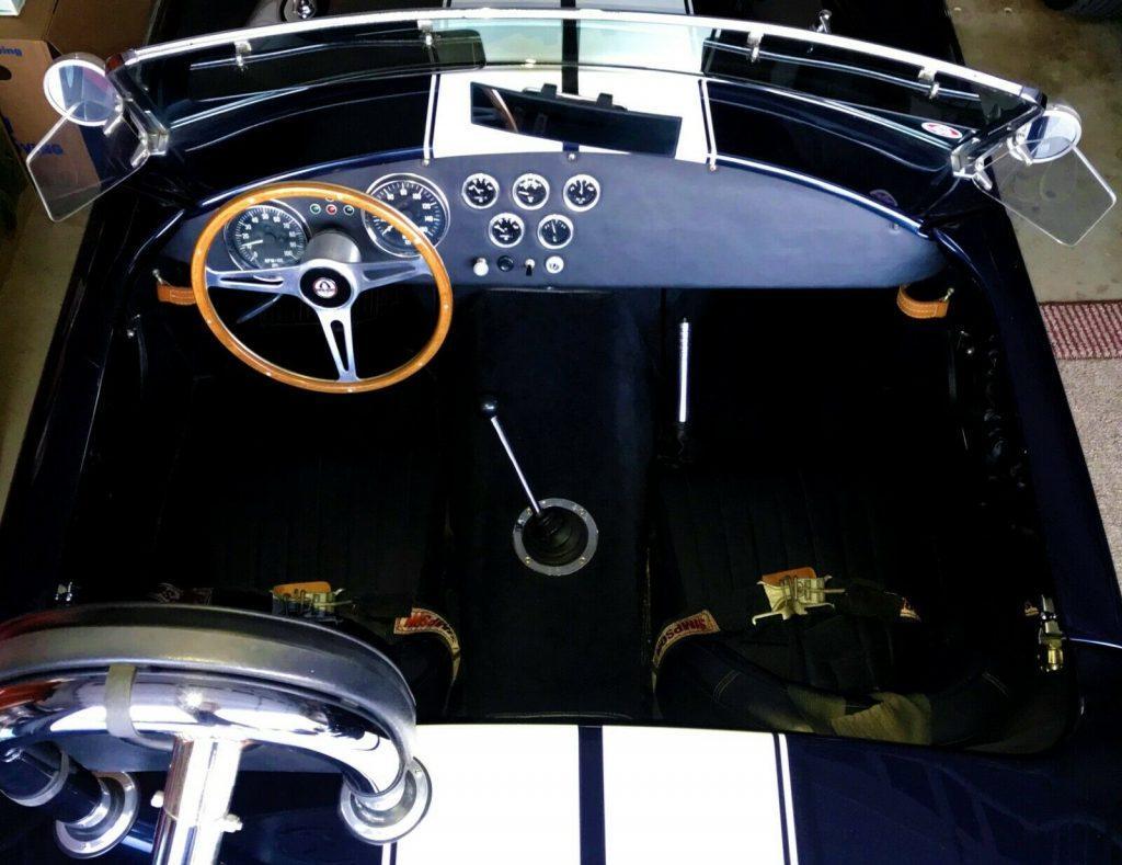 sharp 1965 Shelby Type 65 Roadster MK II replica