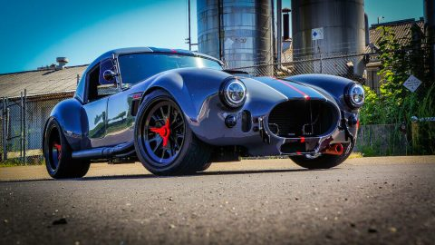 stunning 1965 Shelby Cobra Blackout Edition GT replica for sale