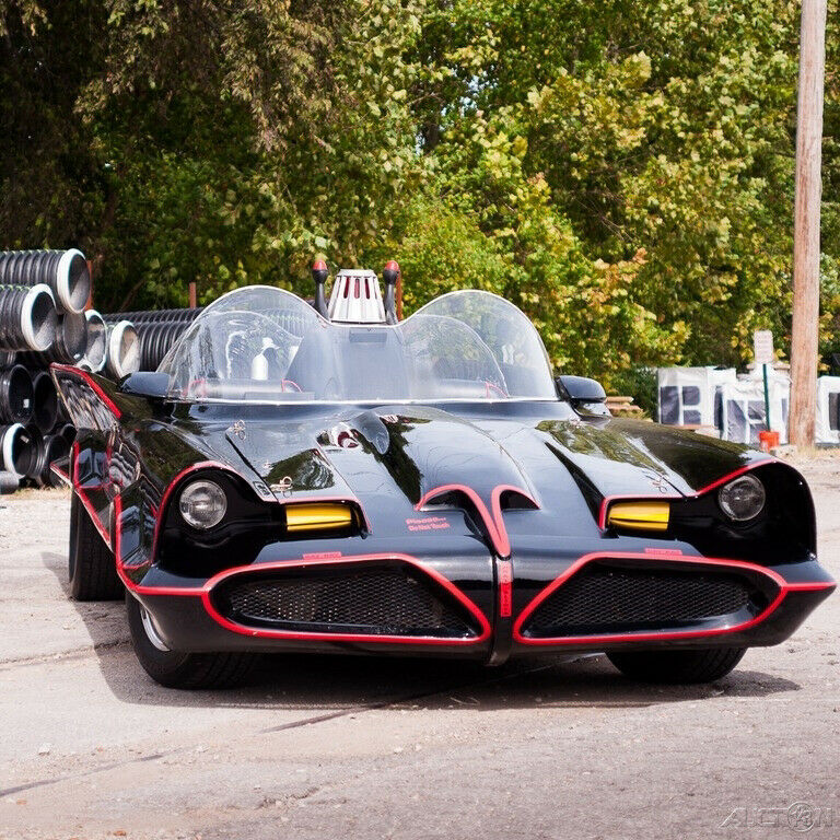 Corvette Frame 1966 Batrodz Batmobile Replica For Sale